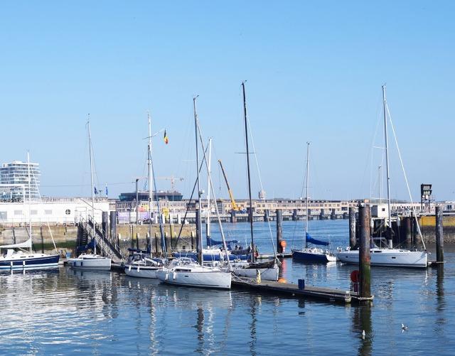 port d'ostend belgique