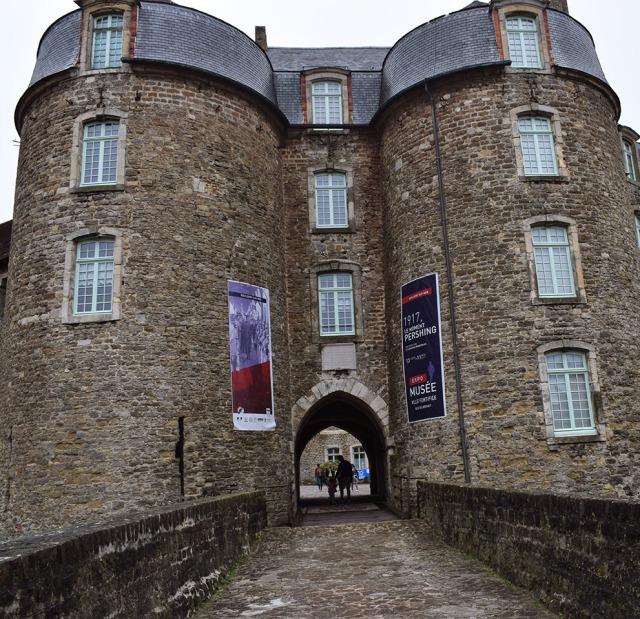 entrée du chateau de boulogne