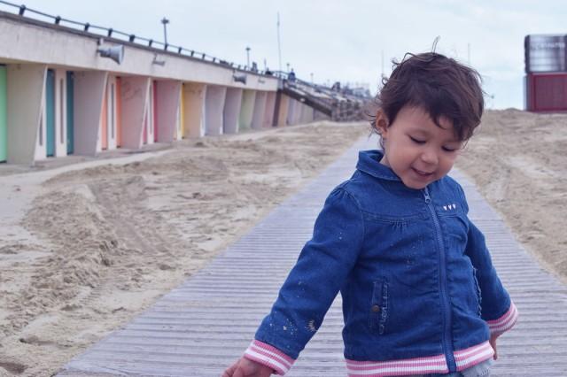 la linette à côté des cabines de plage touquet
