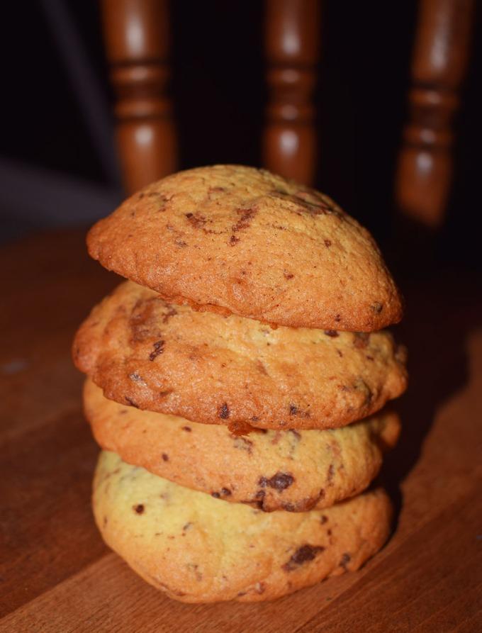 pile de petits cookies