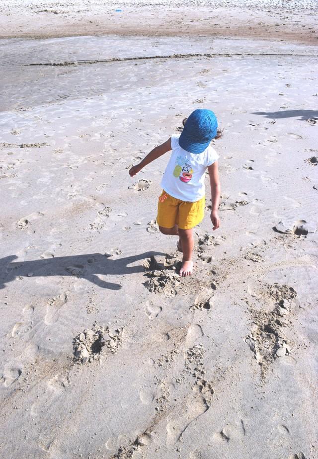 linette sur le sable malo les bains