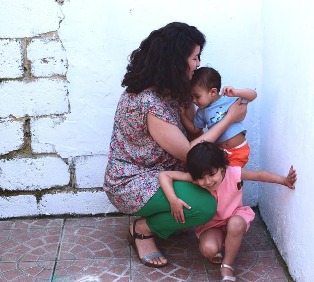 maman et les enfants