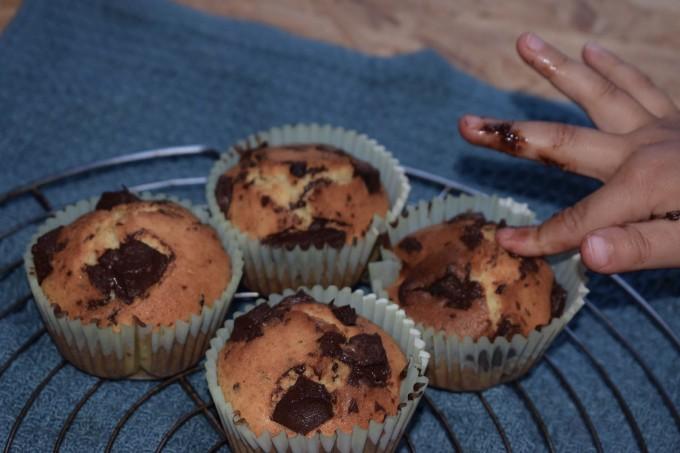 muffins et petites mains